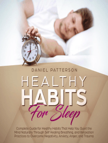 Healthy Habits for Sleep