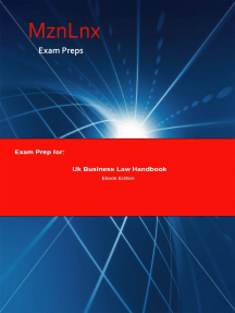 Exam Prep for:: Uk Business Law Handbook
