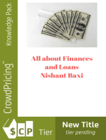 All about Finances and Loans