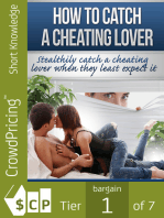How To Catch A Cheating Lover