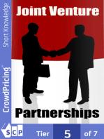 Joint Venture Partnerships