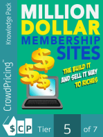 Million-Dollar Membership Site