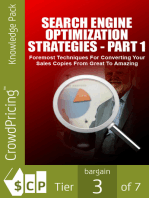 Search Engine Optimization Strategies - Part 1