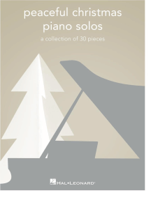 Peaceful Christmas Piano Solos: A Collection of 30 Pieces