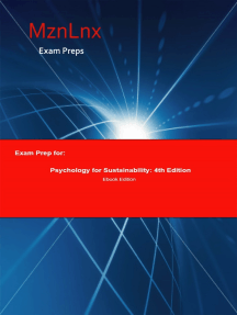 Exam Prep for:: Psychology for Sustainability; 4th Edition