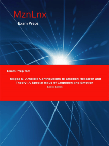 Exam Prep for:: Magda B. Arnolds Contributions to Emotion Research and Theory: A Special Issue of Cognition and Emotion