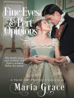 Fine Eyes and Pert Opinions