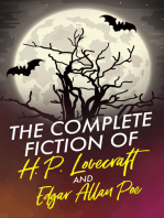 The Complete Fiction of H .P . Lovecraft and Edgar Allan Poe