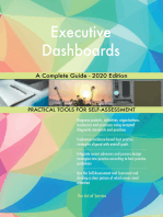 Executive Dashboards A Complete Guide - 2020 Edition
