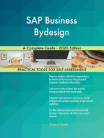 SAP Business Bydesign A Complete Guide - 2020 Edition