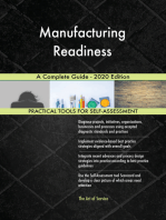 Manufacturing Readiness A Complete Guide - 2020 Edition