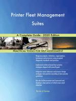 Printer Fleet Management Suites A Complete Guide - 2020 Edition
