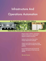 Infrastructure And Operations Automation A Complete Guide - 2020 Edition