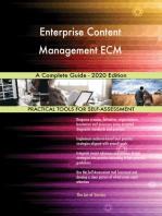 Enterprise Content Management ECM A Complete Guide - 2020 Edition