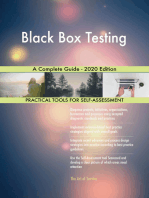 Black Box Testing A Complete Guide - 2020 Edition