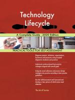 Technology Lifecycle A Complete Guide - 2020 Edition