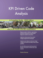 KPI Driven Code Analysis A Complete Guide - 2020 Edition