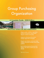 Group Purchasing Organization A Complete Guide - 2020 Edition