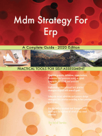 Mdm Strategy For Erp A Complete Guide - 2020 Edition