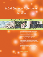 MDM Strategy Professional Services A Complete Guide - 2020 Edition