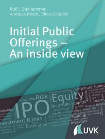 Initial Public Offerings – An inside view