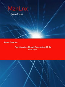Exam Prep for:: Pac Ichapters Ebook-Accounting 23 Ed