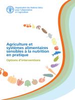 Agriculture et systemes alimentaires sensibles à la nutrition en pratique