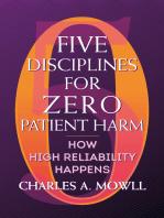 Five Disciplines for Zero Patient Harm
