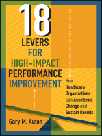 18 Levers for High-Impact Performance Improvement