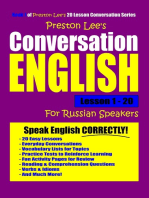Preston Lee's Conversation English For Russian Speakers Lesson 1