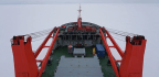 Despite Thin Ice, Research Ship Finds Its Home In Frozen Floe For The Next Year