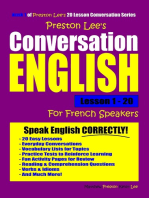 Preston Lee's Conversation English For French Speakers Lesson 1