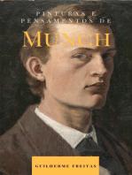 Pinturas e pensamentos de Munch