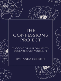 The Confessions Project: 52 God-Given Promises to Declare Over Your Life