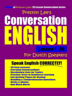 Preston Lee's Conversation English For Dutch Speakers Lesson 1