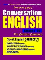 Preston Lee's Conversation English For Serbian Speakers Lesson 1
