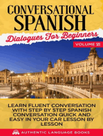 Conversational Spanish Dialogues for Beginners Volume VI