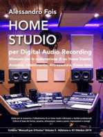 Home Studio per Digital Audio Recording