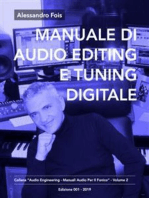 Manuale di Audio Editing e Tuning Digitale