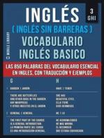 3 - GHI - Inglés (Inglés Sin Barreras) Vocabulario Ingles Basico