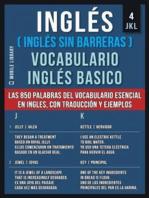 4 - JKL - Inglés (Inglés Sin Barreras) Vocabulario Ingles Basico