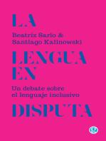 La lengua en disputa