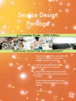 Service Design Package A Complete Guide - 2020 Edition