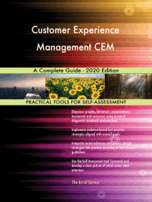Customer Experience Management CEM A Complete Guide - 2020 Edition