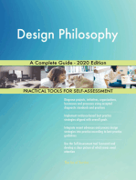 Design Philosophy A Complete Guide - 2020 Edition
