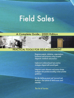Field Sales A Complete Guide - 2020 Edition