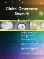 Clinical Governance Structure A Complete Guide - 2020 Edition