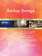 Backup Storage A Complete Guide - 2020 Edition