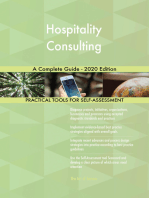 Hospitality Consulting A Complete Guide - 2020 Edition