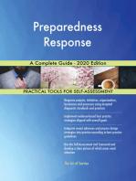 Preparedness Response A Complete Guide - 2020 Edition